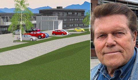FORTSETTER: – Vi driver på vi, sier Jan Martin Opsahl, som hele tiden har hevdet at det ikke var grunnlag for å kreve byggestans.