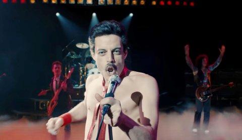 MUSIKKHISTORIE: Bohemian Rhapsody som om handler dannelsen av den engelske eksperimentelle rockegruppa Queen, spesielt sentrert rundt livet til vokalist og selverklært bandsjef Freddie Mercury.