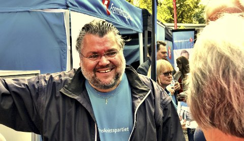 OPPSUMMERER: Morten Wold (Frp) oppsummerer valgkampen.