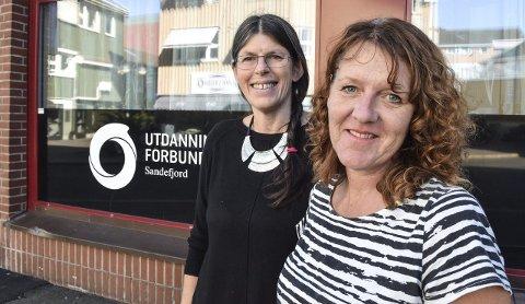 Møte på Rukla: Utdanningsforbundet Sandefjord, her representert ved leder Heidi Engen og hovedtillitsvalgt for lærerne i Sandefjord, Inger-Johanne Gran, inviterer til medlemsmøte.