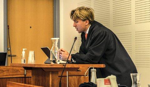 REGJERINGSADVOKATEN: Bjarne Snipsøyr fra Regjeringsadvokaten hevdet under hovedforhandlingen at Staten må frifinnes, og har fått rettens tilslutning.