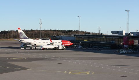 NY START: Norwegian skal igjen fly til Spania fra Torp Sandefjord lufthavn.