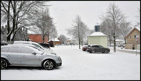 BORGARSYSSEL: På denne plassen like ved Borgarsyssel kan du parkere gratis.