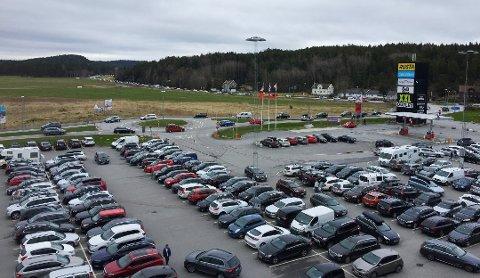 MILLIARDHANDEL: Grensehandelen med mat bare øker og øker. Handleområdet Nordby planlegger å utvide med flere butikker.