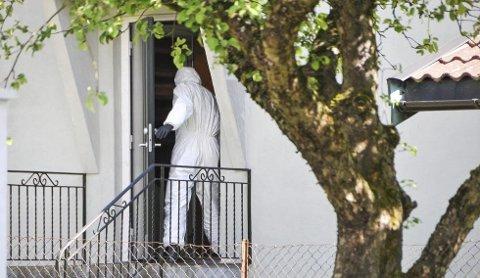 I denne boligen, i et rolig boligstrøk i Skien, ble det foretatt undersøkelser i juni i fjor.