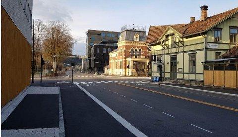 Prosjektet er inne i sluttspurten før åpningen av Sverresgate på strekningen Eidangergata – Floodeløkka.