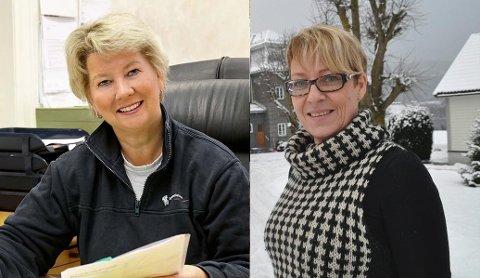 RIKE, MEN FÅ: Det er bare 18 kvinner på topp 100-lista over inntektslista i Telemark. Fra venstre: Marianne Foss og Reidun Karlberg Sperre.