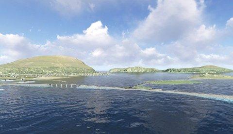 Det nye regnestykket viser at gigantprosjektet Nordøyvegen blir billigere enn først antatt.