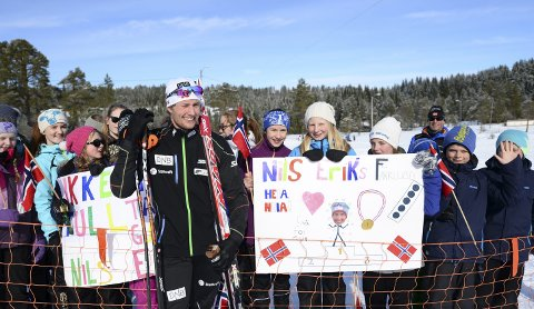 Satser videre: I 2015 gikk Nils-Erik Ulset verdenscup i Surnadal. Han var naturligvis populær blant fansen som fulgte konkurransene fra sidelinja. Nå har Ulset bestemt seg for å satse fram til 2021.