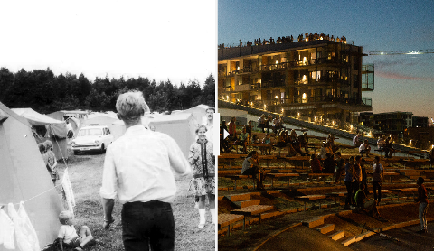FORANDRINGER: Se hvordan Brunstad har endret seg gjennom tidene.