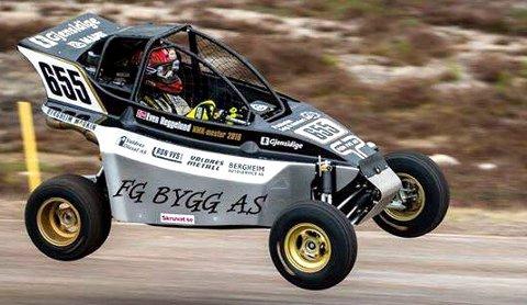 Nummer to: Even Heggelund kjørte inn til en sterk andreplass i den andre NM-runden i crosskart 650 ccm på Finnskogbanen i Solør søndag.