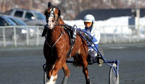 Vinner: Jo Oxhovd Svalesen og Stee Raua kunne ta seieren heim på Bjerke onsdag kveld.