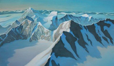 Billedkunstner Leslie Ayres har utstilling på Biri fra 5.–27. august. Utstillingen har fått navnet «PERSPEKTIVE».