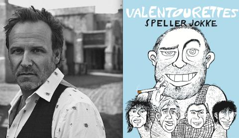 HEADLINERE: Bård Christiansen og Valentourettes er ubestridte headlinere på bygderock i år.  (Foto av Bård: Marcel Leliënhof, og plakaten til Valentourettes.)