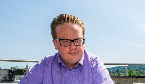 BEROMFRITAK:Helge Fossum (Frp) har siden 16. mars fungert i fulltidsverv som varaordfører i tillegg til sin vanlige jobb som markedssjef i Frp sentralt.
