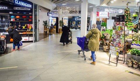 HANDELSLEKKASJE: Åpningen av butikker i nabokommuner som Frogn og Vestby fører til færre kunder på Vinterbro senter.