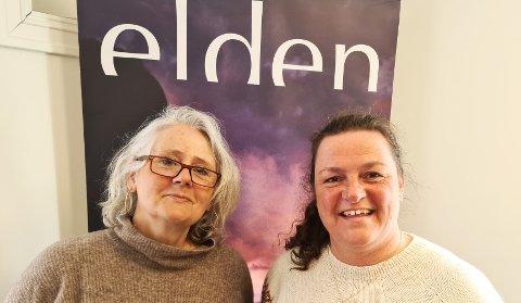 Trenger frivillige: Daglig leder for Elden, Siri Gellein (t.v.) og produksjonsleder Lise Krokan Kverneng, er på jakt etter flere frivillige til årets oppsetning.  - Ta kontakt med oss, så finner vi en oppgave som passer deg, oppfordrer de to.