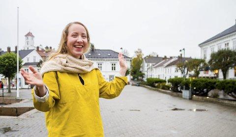Idémyldring: Prosjektleder ved RUV Tine Karlsvik oppfordrer spesielt barn og unge til å stikke innom på lørdag. – De er en veldig viktig målgruppe når det gjelder utforming av byrom, sier hun.
