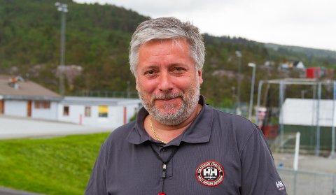Dagleg leiar: Eddie Ebbesvik har vore dagleg leiar i Knarvikmila i seks år, no gjev han seg for å ta over friidrettskrinsen.