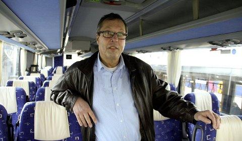 Driftssjef i Nordlandsbuss Roger Stensen: – Nå går vi i gang for alvor.