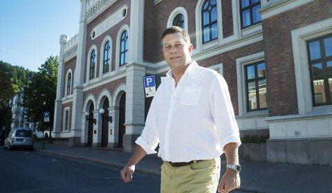 «NYE DRAMMEN»: - Målet i 2020 må være å skape Norges beste kommune der 100.000 innbyggere kan arbeide-, bo- og leve. Det klarer vi med målrettet arbeid, gode planer og gjennomføringsvilje, sier Haaning.