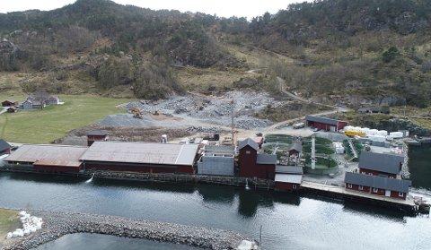 HAUKÅ: Mowi sitt anlegg i Haukå skal byggast ut med eiga avdeling for stor smolt.
