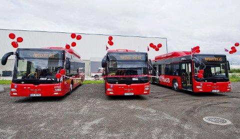 Mye bra: Jostein Haug minner om det har skjedd mye positivt med busstilbudet i Nedre Glomma de senere årene: Nedgang i antall bussreisende er snudd til vekst. Samtlige busser er utslippsfrie (biogass). Tilbudet er styrket med flere avganger og ruter.