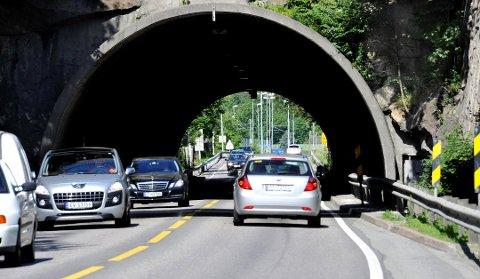 Tunnelen på Innfartsåra stenges for vedlikeholdsarbeid natt til onsdag.