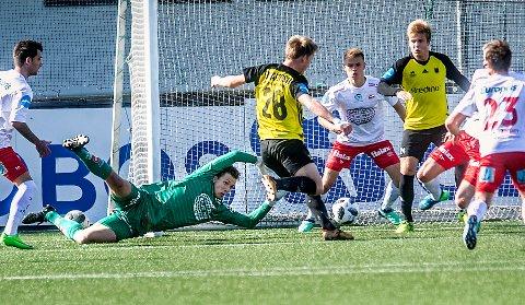 HET AFTEN: Håvar G. Jenssen må forberede seg på en het onsdagskvled, når eliteserielaget Odd kommer på besøk. Foto: Geir A. Carlsson