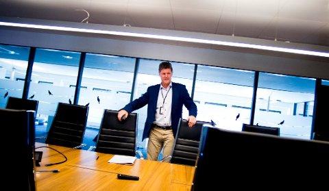 DÅRLIGERE TIDER: Fredrikstad Energi AS og direktør Trond Andersen har tidligere bidratt med store utbytter til eierne. Det har endret seg.