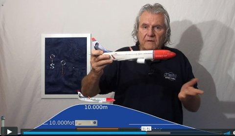 Kurerer flyskrekk: Petter Corneliussen etablerte Flight Clinic for  20 år siden. Nå gi han ut en jubileumsfilm der flyskrekk-kurset er integrert
