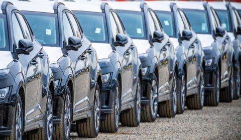 STORIMPORT: Det har kommet mange elbiler inn i landet den siste tiden.