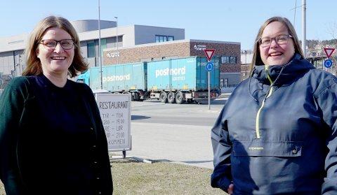 TAR LANGHELG: Marianne Dobak Kvensjø (t.v.) og Trine Remman har fått viktige roller når Høyre samles til landsmøte i helga.