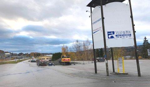 NEDLAGT: Drivstoffanlegget ved gjestegården er nå lagt ned.
