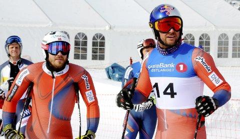 Kjetil Jansrud og Aksel Lund Svindal er naturlig nok tatt ut på alpinlandslagene neste sesong.