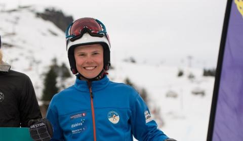 Andreas Sønsterud Amdahl (18) tok bronse i NM storslalåm.