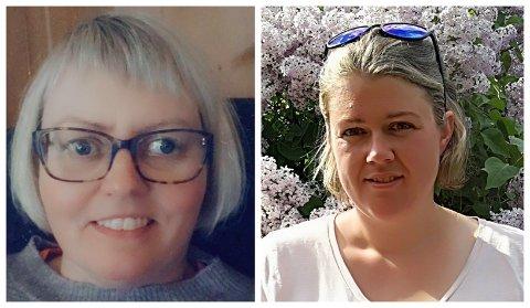 Her er dialekt-vinnerne de to første ukene i GDs julekalender. Fra venstre Astrid Gården Preststulen fra Vågå og Ellen Øyberg fra Lom.