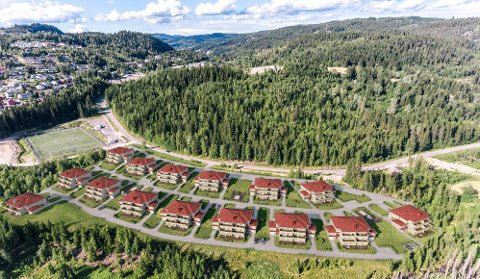 OVERSIKTBILDE: Prosjektet Bergverket på Grua.