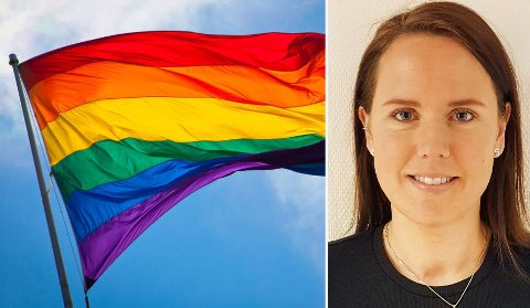 LOKALPOLITIKER: Cecilie Johansen Sandbakken (Ap) fikk Jevnaker kommune med på at det skal flagges med regnbueflagget i forbindelse med lokale Pride-arrangement.