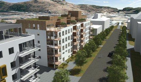 Ved DNB Eiendom merker eiendomsmeglerne at det nå er etterspørsel etter bra leiligheter i sentrum. Det skal nå selges 42 leiligheter i Os Allé 9.