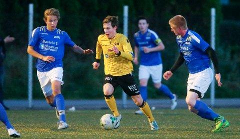 TO AV FAVORITTENE: Skjold og Haugar spilte uavgjort 1-1 i gruppe 2.