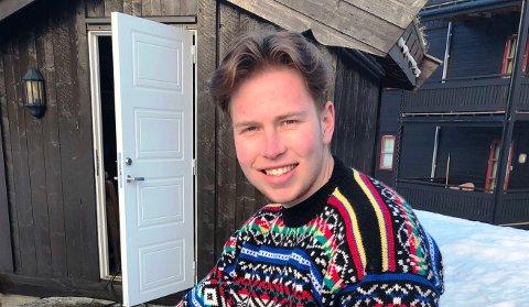 ENGASJERT: Einar Ask Gullaksen har vært med å etablere selskapet «Vi leier» mens han studerer på BI i Bergen. – Det skal bli veldig nytte å kombinere teori og praksis i løpet av studietiden, sier han.