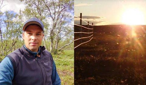 Ved Finnmarks største innsjø, Iešjávri, har myggen våknet til liv. Ifølge Juhan Daniel Gaup er den svært aggressiv.