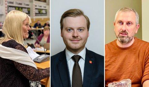 Ordfører Kari-Anne Opsal sier at hun nok følte seg litt tråkket på av spørsmålet fra Kristian Eilertsen. Rune Stenstrøm ber politikerne tenke over sin oppførsel.