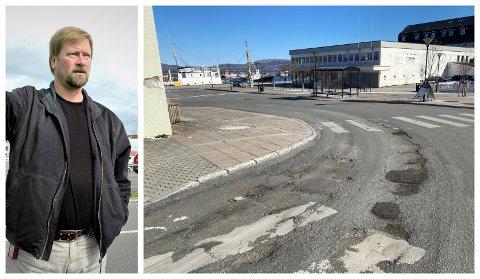 De kommunale veiene i Alstahaug er i dårlig forfatning, men Alstahaug kommune skal om kort tid asfaltere