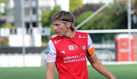 TOMÅLSSCORER: Toren Dvergsdal scoret Brynes andre og tredje mål mot Storm.