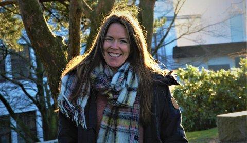 HJEMME: Marte Egeland var en tur hjemme for å feire jul og nyttår på Bryne sammen med familien.