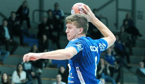 TO STORTAP: Andreas Horst Haugseng kunne blitt Elverum-spiller, men valgte å ta en sesong til i moderklubben Nærbø. Helgens to kamper viser at Nærbø har et stykke opp til Norges beste lag.