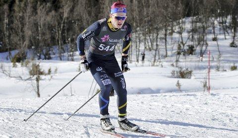 Viste SEG fram: Kasper Inderhaug hevdet seg godt i sitt aller første junior-NM.  Foto: Svein Halvor Moe