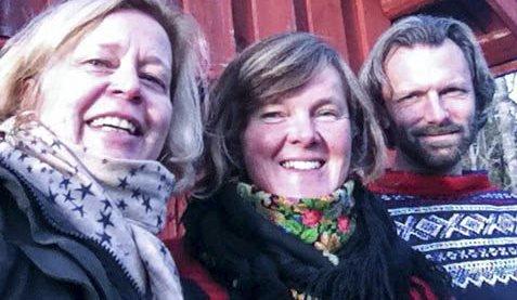 VANDRETEATER: Kristin Rangnes, Katja Aarflot, Jørgen Haave (bilde) skal sammen med Karl Holte Aarø stå for to vandreforestillinger.